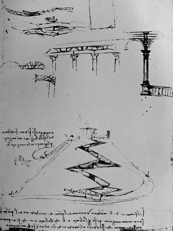 Plan of Canal Ascending Hill By Means of Locks', 1928