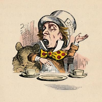 'The Mad Hatter', 1889