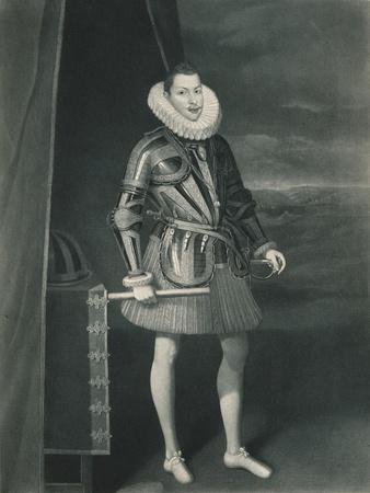 'Philip III in armoir', 1605, (1904)