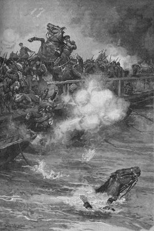 'A Terrible Carnage Ensued Upon The Overcrowded Bridge', 1902