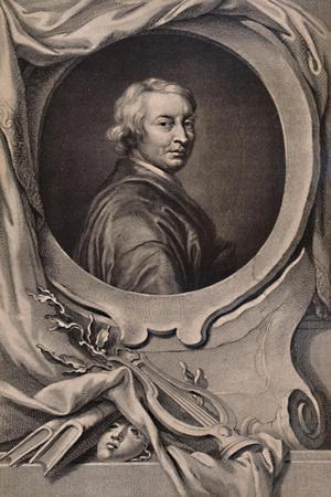 John Dryden, English poet and dramatist, c1743 (1894)