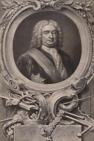 Sir Robert Walpole, English statesman and Prime Minister, c1746 (1894)