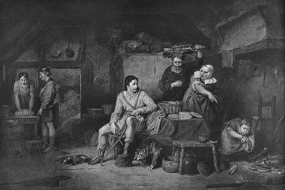'King Alfred in Neatherd Cottage', 1806, (1912)
