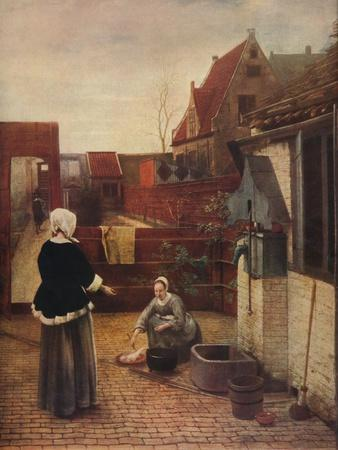'A Dutch Courtyard', c1658, (1911)