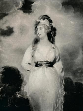 'Lady Amelia Anne Hobart, Vicountess Castlereagh, Marchioness of Londonderry', c1800, (1