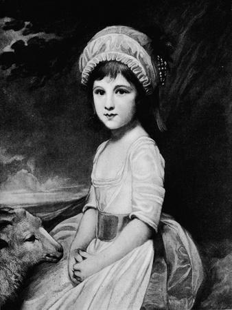 'Miss Martindale', c1781, (1912)