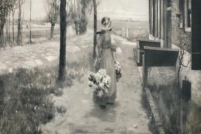 'Flower Girl in Holland', 1887, (1912)