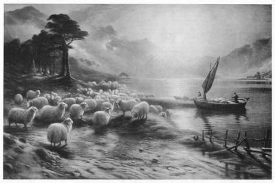 'The Ferry on the Loch', c1890, (1911)
