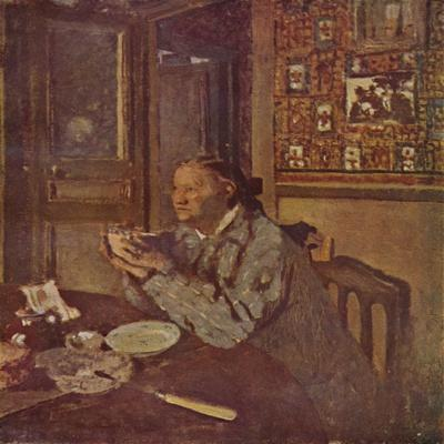 'Woman with a bowl (About 1897)', c1897, (1946)