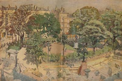 'Place Vintimille, seen from the painter's window (1917)', 1917, (1946)