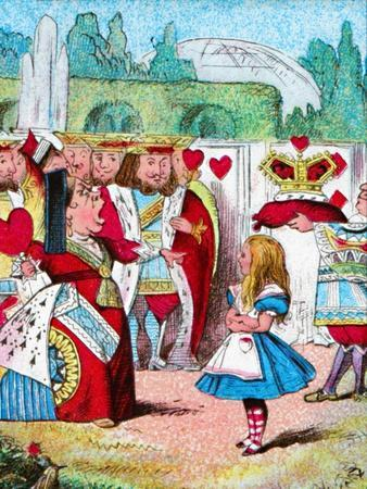 'Off with her head! Alice and her Red Queen', c1910
