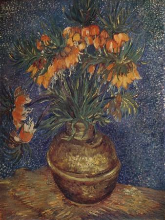 'Flowers in a Brass Vase', 1887, (1923)