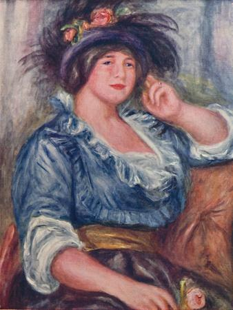 'Girl with a Rose', 1913, (1923)