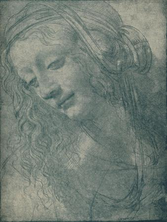 'Head of a Virgin', c15th century, (1932)