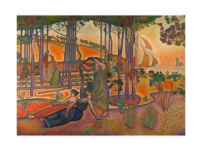 L'Air du Soir. Oil on canvas (1893) RF 1976-81.