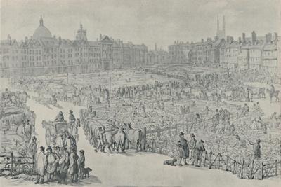 'Smithfield Market, 1810', 1920