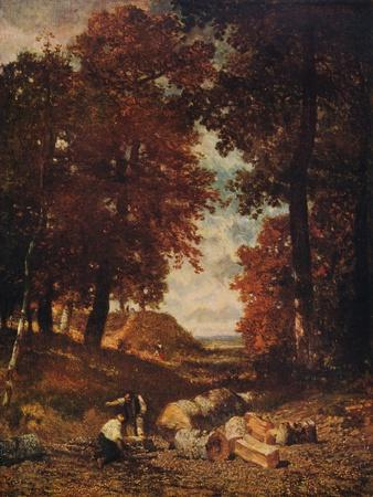 'Woodcutters', late 1840s, (c1915)