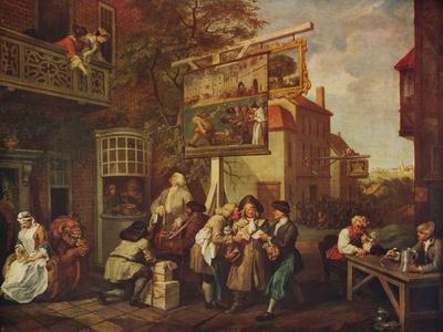 'The Election: Canvassing for Votes', 1754-1755, (c1915)
