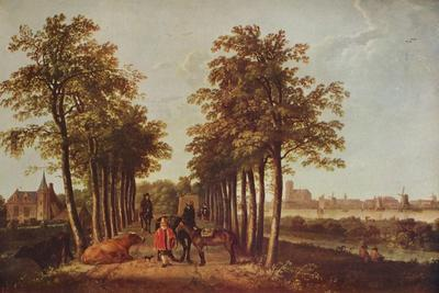'Avenue at Merdervort', c1650-1652, (c1915)