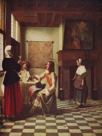 'Interior of a Dutch House', c1658, (c1915)