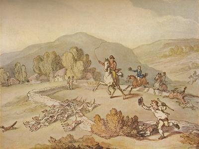 'The Village Hunt', c1800, (1922)