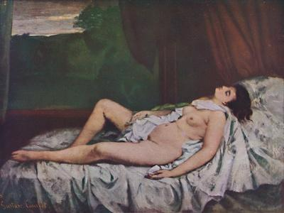 'Nu couché', mid 19th century, (1937)