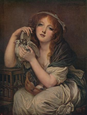 'Woman With Doves', 1799-1800, (c1915)