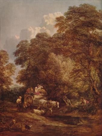 'The Market Cart', 1786, (c1915)