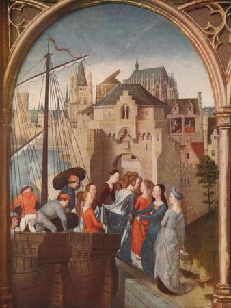 'The Arrival of St. Ursula at Cologne', 1489, (c1915)