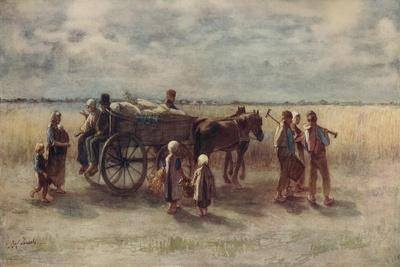 'Potato Harvest', 1844, (c1915)