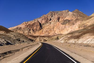 The USA, California, Death Valley National Park, Artists drive