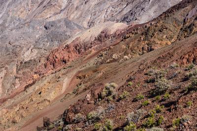 The USA, California, Death Valley National Park, Dantes View, Amargosa Range