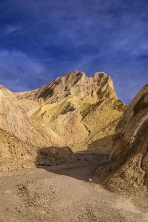 The USA, California, Death Valley National Park, Golden canyon