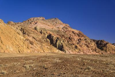 The USA, California, Death Valley National Park, Artists drive, scenery with Artists palette