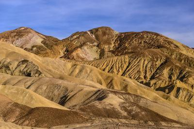 The USA, California, Death Valley National Park, scenery in the Bad Water Road close Golden canyon