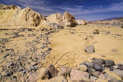 The USA, California, Death Valley National Park, Twenty Mule Team Canyon, Furnace Creek Wash