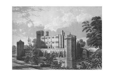 Caverswall Castle, Staffordshire, 1845