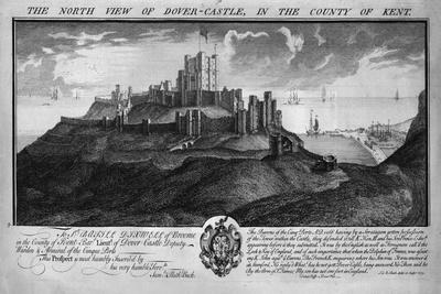 'The North View of Dover-Castle, in the County of Kent.', c1735