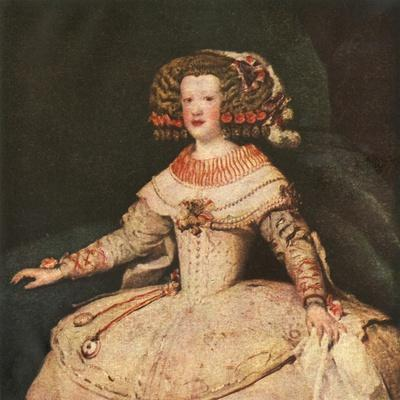 'The Infanta Maria Teresa', c1653, (1938)