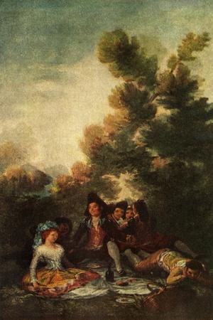 'The Picnic', 1785-1790, (1938)