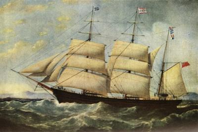 'The Joseph Cunard', 1839, (1938)