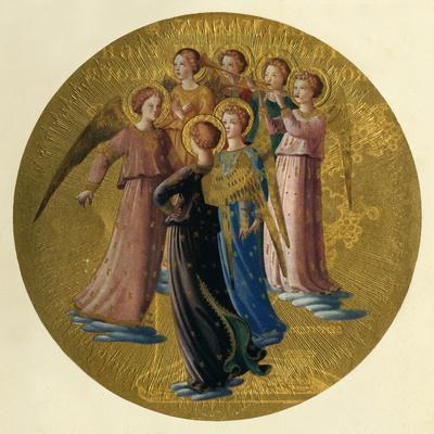 'A Group of Angels', 15th century, (c1909)