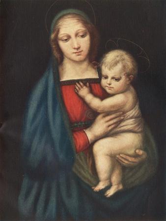 'The Madonna Del Gran Duca', 1505, (c1912)