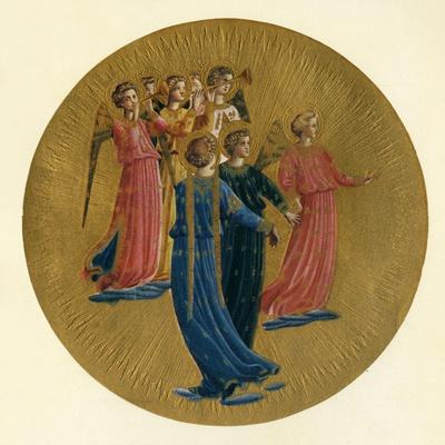 'Detail from the Coronation of the Virgin', 15th century, (c1909)