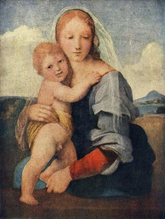 'The Madonna of the Tower', 1509-1511, (c1912)