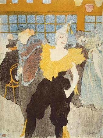 'La Clownesse in the Moulin Rouge', 1897