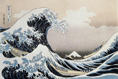 'The Great Wave off the Coast of Kanagawa', c1829-c1831