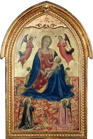 'Virgin and Child with Angels', c1425