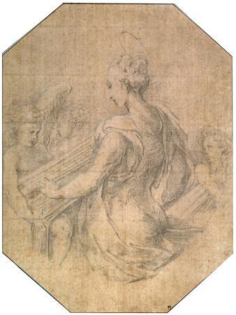 'Saint Cecilia', c1527-1530