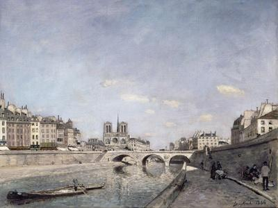 The Seine and Notre-Dame, 1864